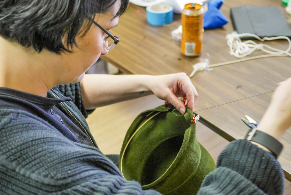 Hatmaking with the Duluth Folk School
