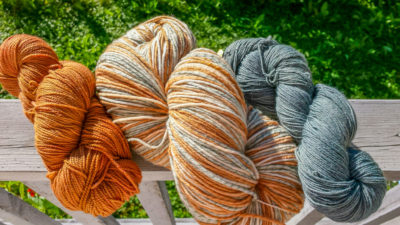 Natural Dyes with the Duluth Folk School
