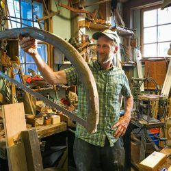 Duluth Folk School instructor John Finkle