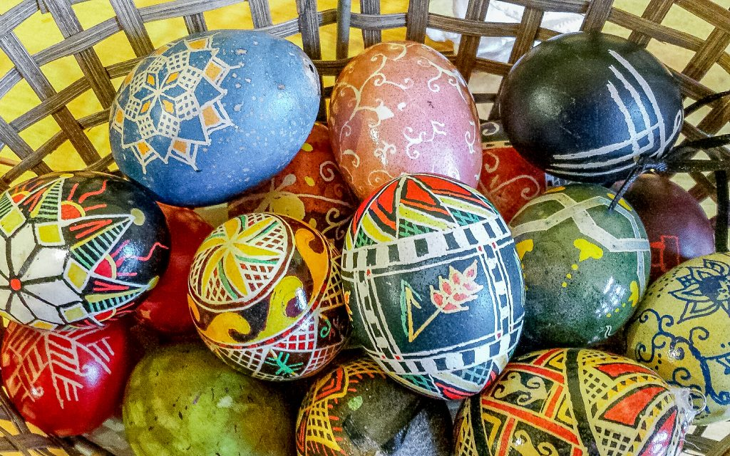 Ukranian Egg Decorating