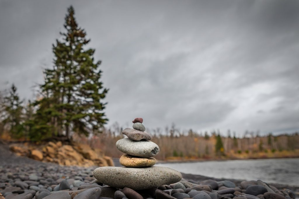 Photo of Rock Cairn at Split Rock