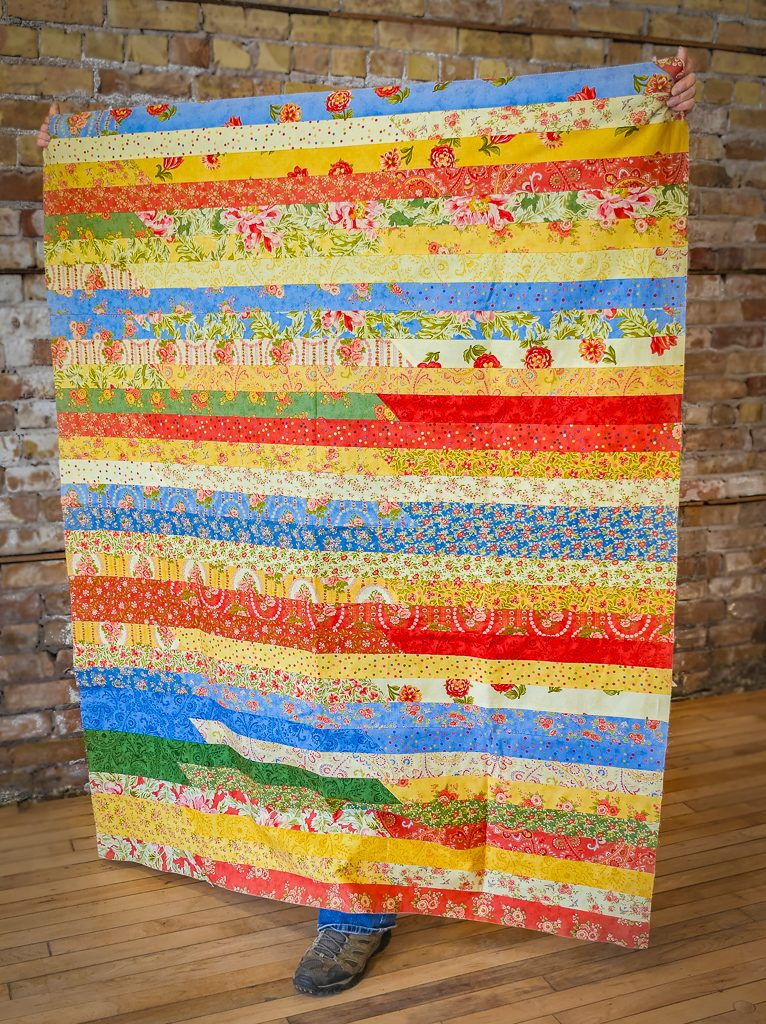 Jelly Roll Quilt Top Class with Duluth Folk School