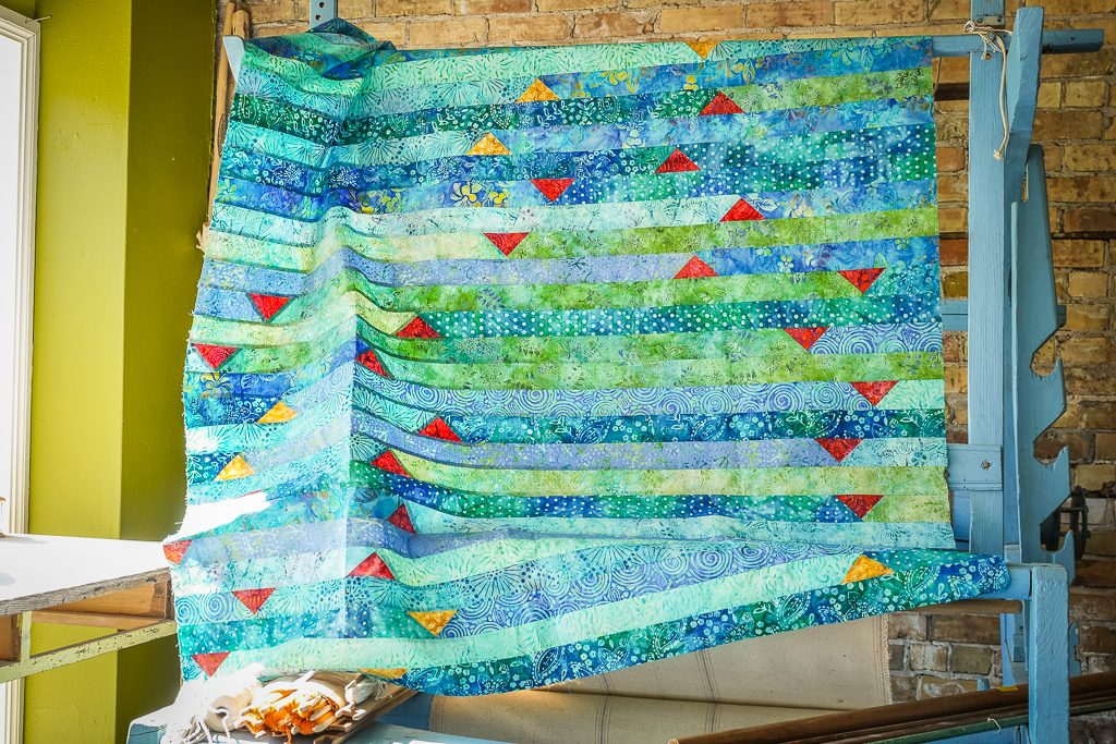 Advanced Jelly Roll Quilt