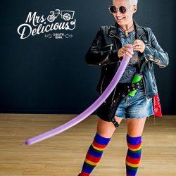 Photo of Duluth Folk School instructor, Mrs. Delicious