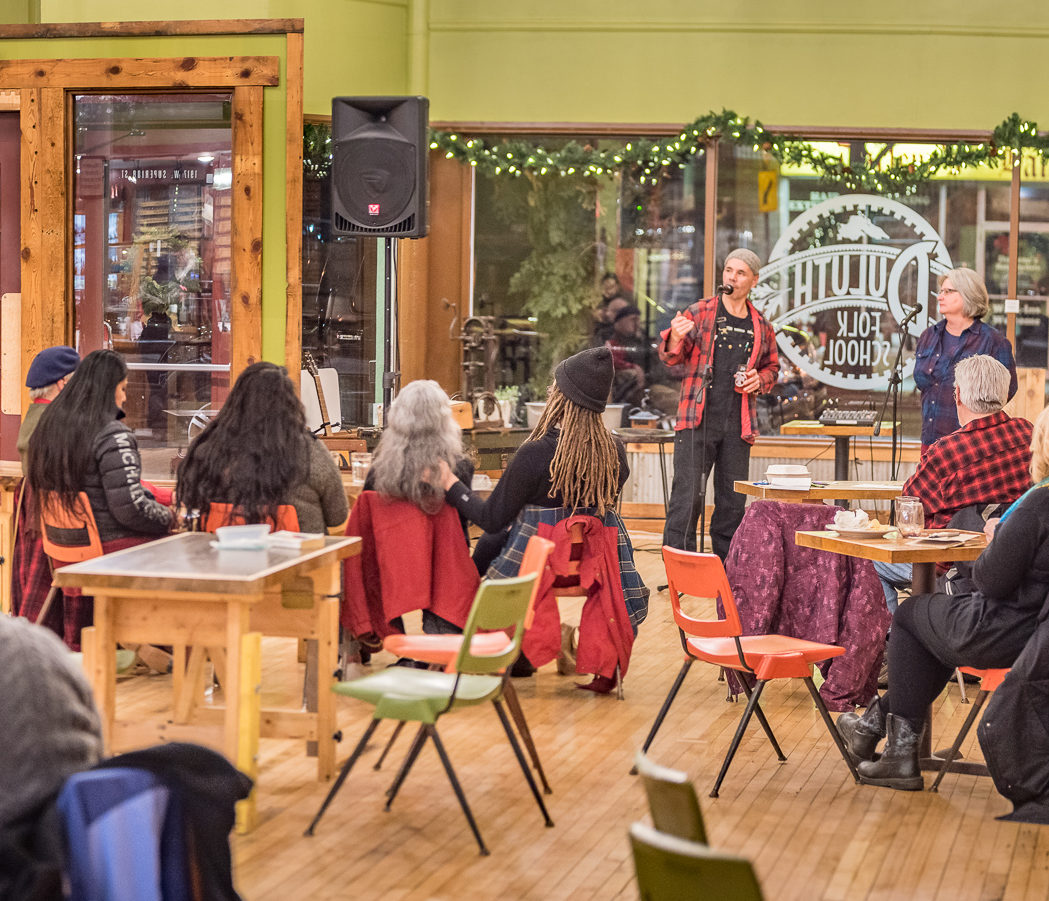Spoken Word with Sonofmel at the Duluth Folk School