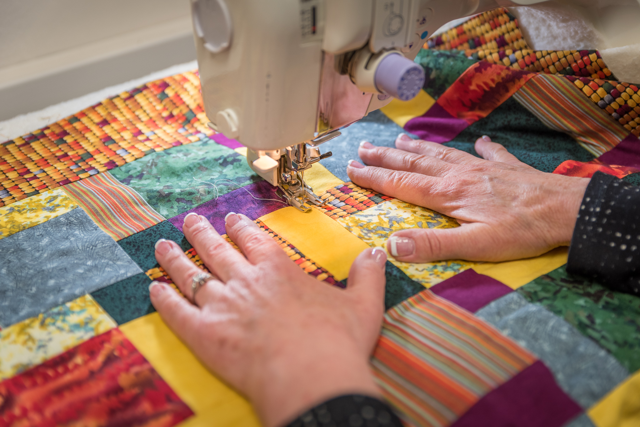 Quiltmaking for Beginners at the Duluth Folk School