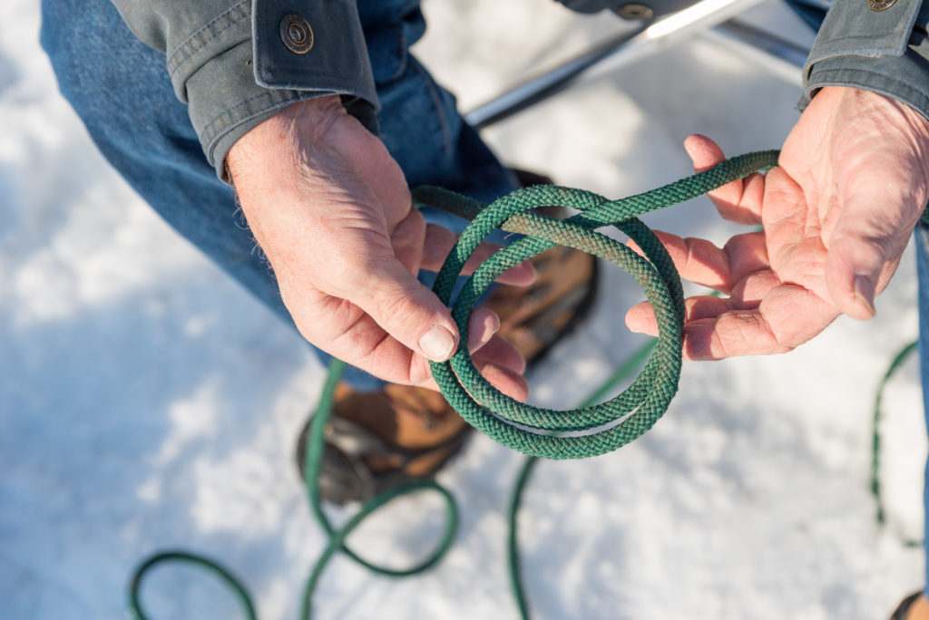 Tying Knots with Tom Swanstrom